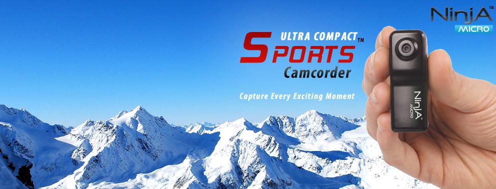 NinjA Micro™ Sports Camcorder