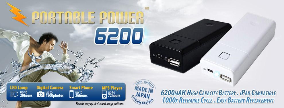 Portable Power 6200